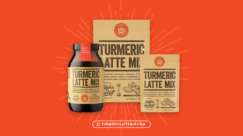 Turmeric Latte Mix Empowering Young Lives