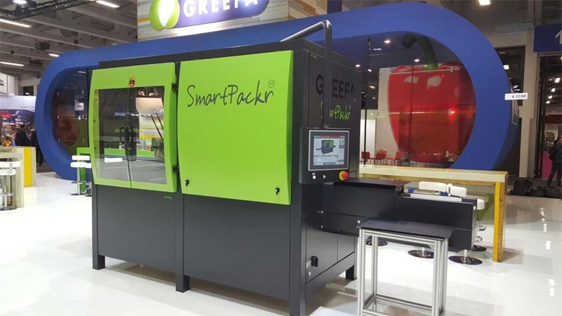 GREEFA's SmartPackr robot triples packaging efficiency