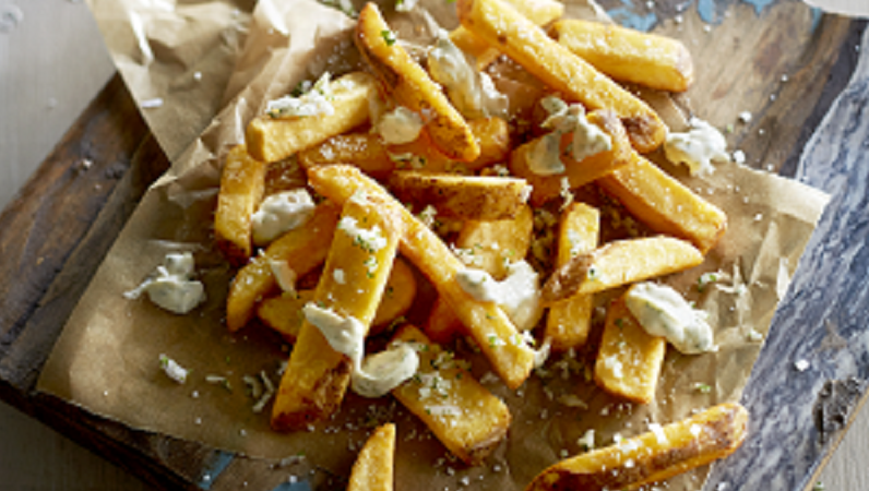 Aviko Pure & Rustic Fries: fresh skin-on fries