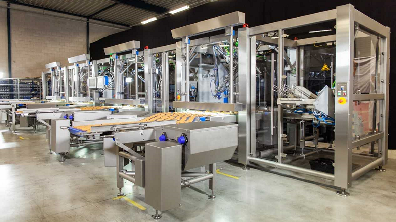 Custom Pick and Place robotic packaging solutions for the food industry