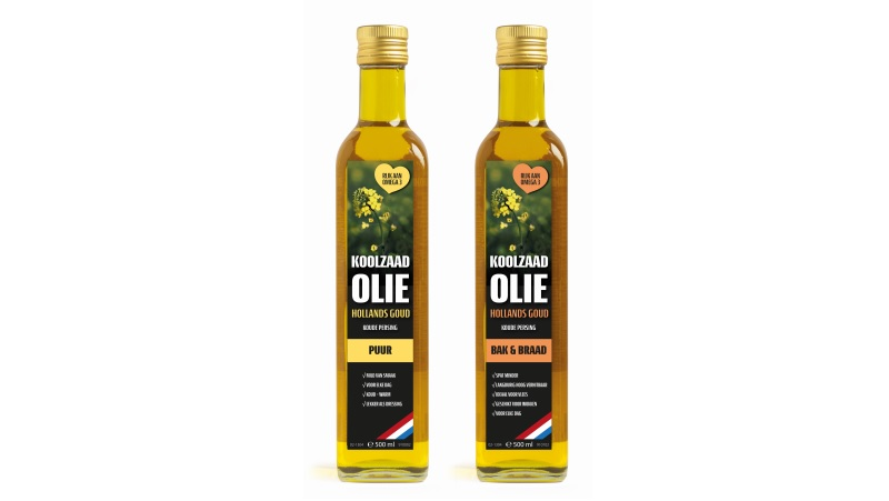 Hollands Goud rapeseed oil