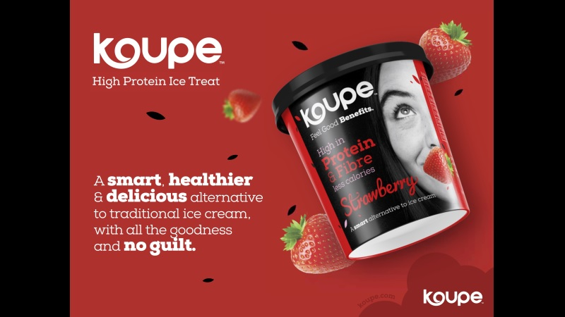 Koupe™: Real Protein Ice Cream