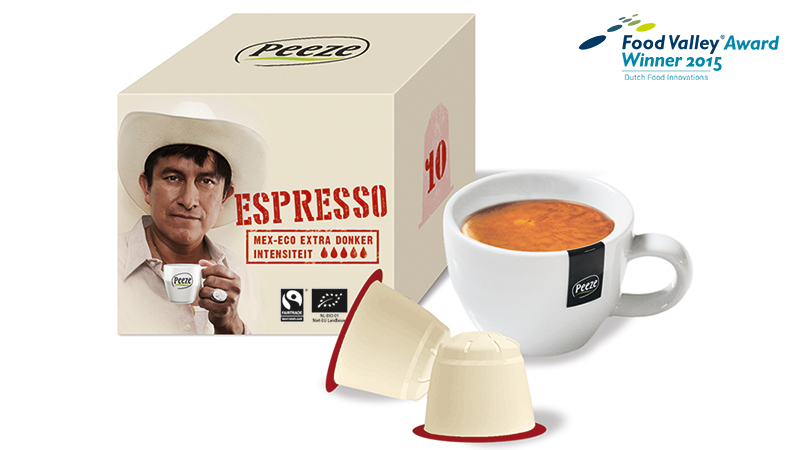 Biobased compostable single-serve coffee capsules